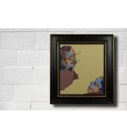 Dual Portrait of C. - Framed
